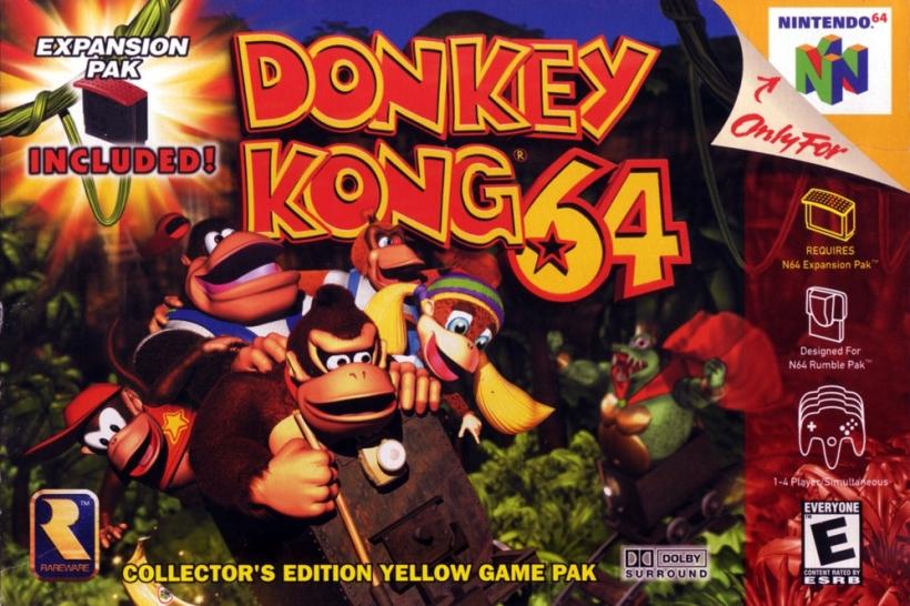 Donkey Kong 64 01